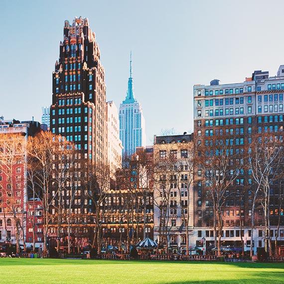 Explore Bryant Park New York