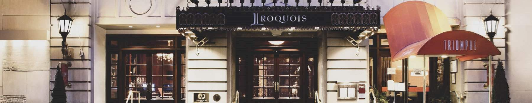 About The Iroquois Hotel New York