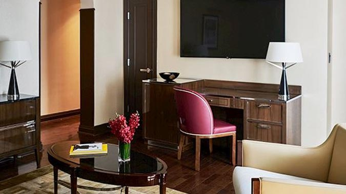 Suite at The Iroquois New York